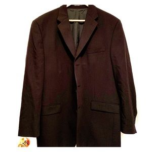 Black Calvin Klein 3 Button Blazer Size 44R